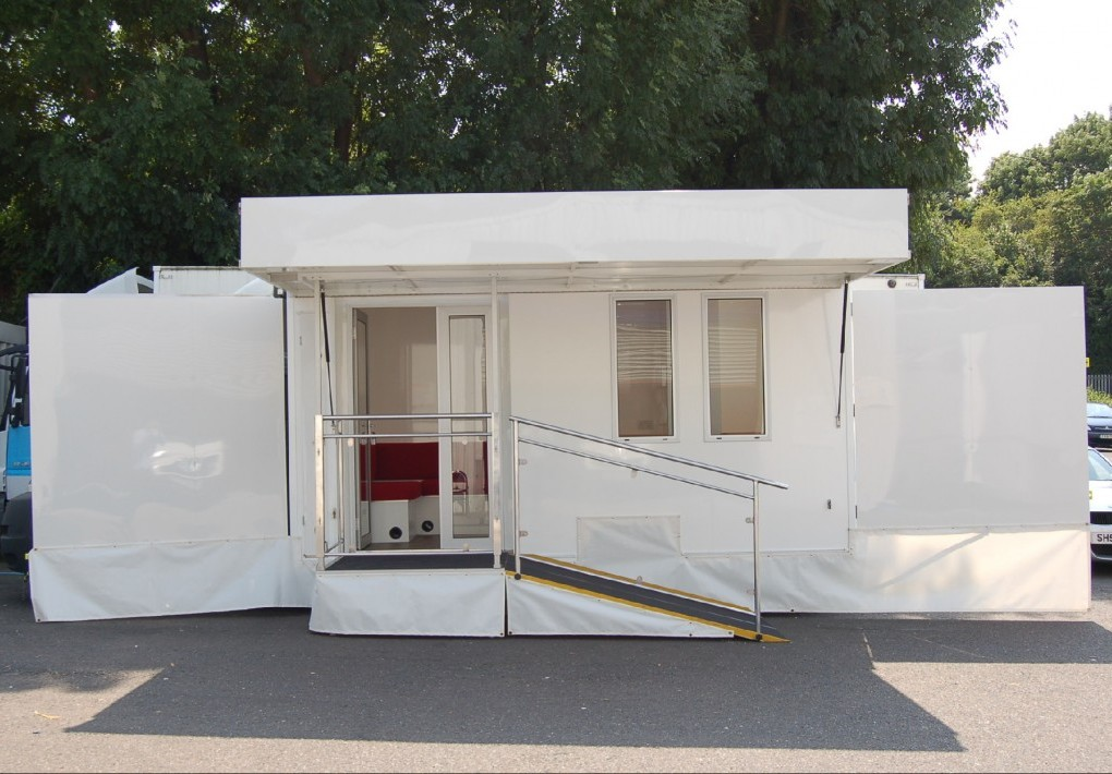 Self Drive Motorised Exhibition Vehicle