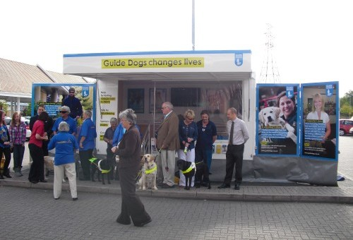 Guide Dogs New Fleet of Fundraising Awareness Vehicles