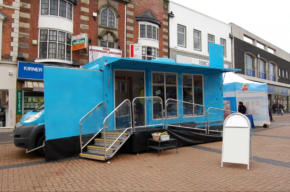 5,500 Kgs Motorised Exhibition Vehicle