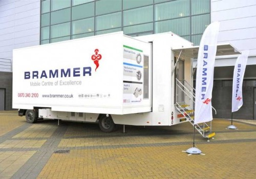 14,000Kgs Double podded motorised exhibition vehicle