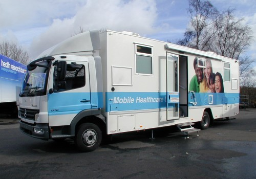 Mobile Clinics For Sale | Bespoke Mobile Clinics, Health