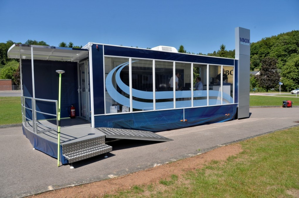 7.75m Hospitality Display trailer