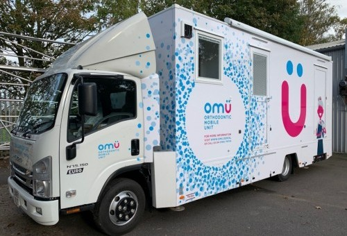 Award winning Orthodontic Mobile Unit