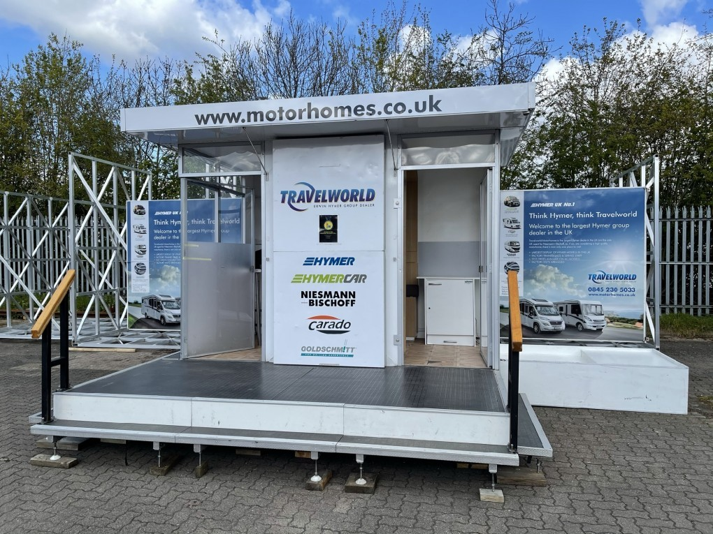 4m Exhibition Trailer with large balcony