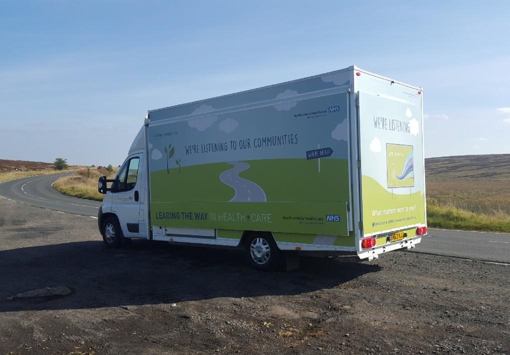 Self Drive Motorised Exhibition Vehicle