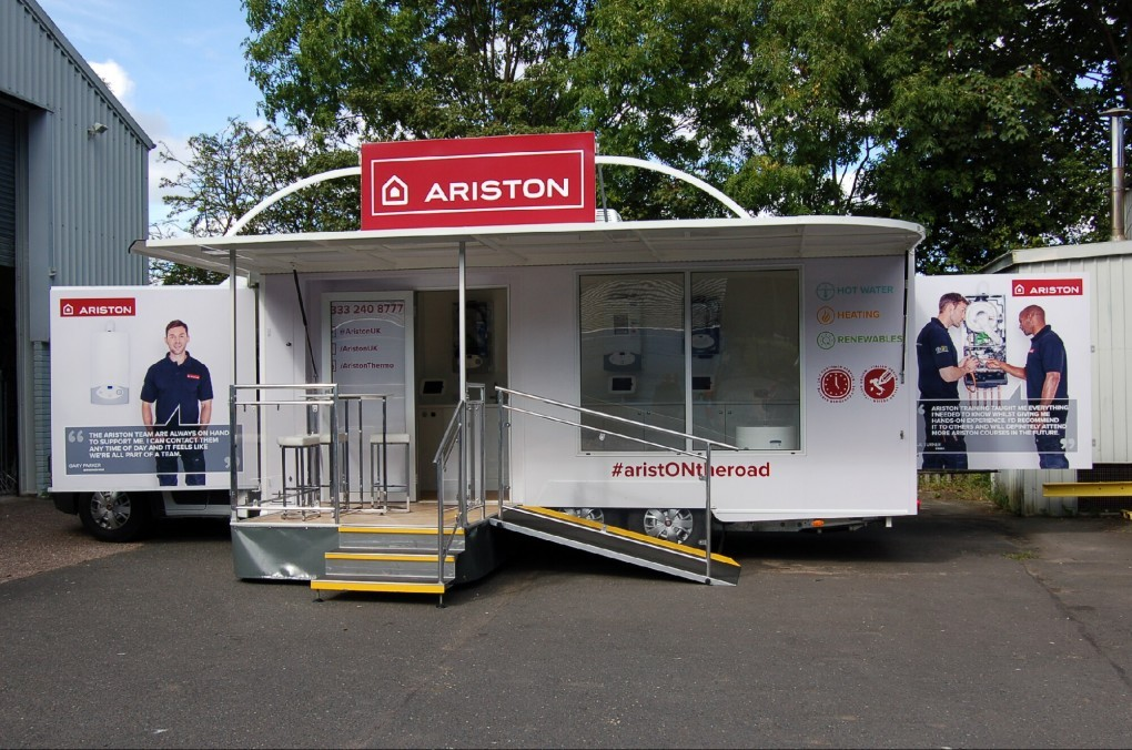 5,000 Kgs Mobile Training or Display Vehicle
