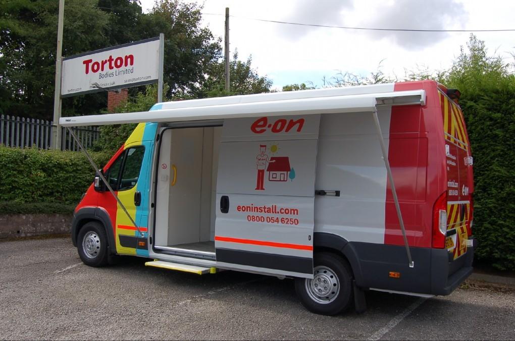 E.ON - Van Conversion