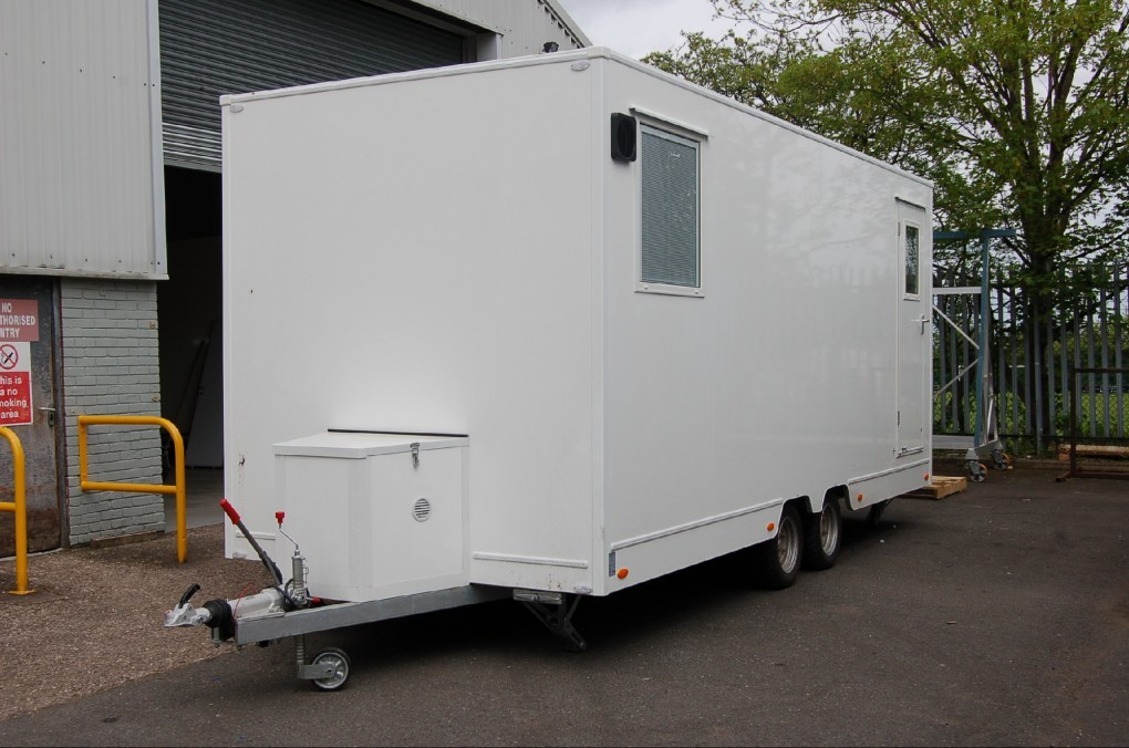 Single Dental Clinic Trailer