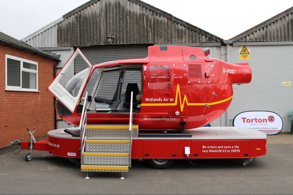 Midlands Air Ambulance Helipod