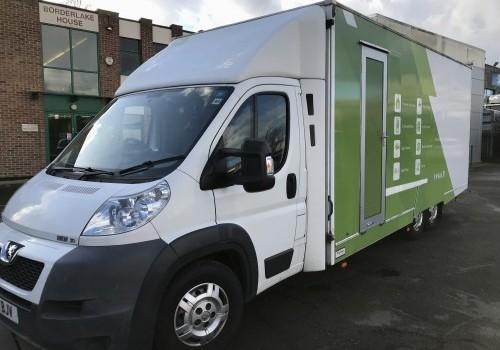 5,000 Kgs Mobile Training Vehicle