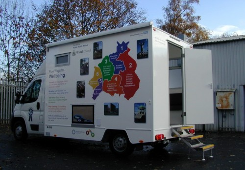 Motorised Mobile Clinic, 3,500 Kgs (H218)