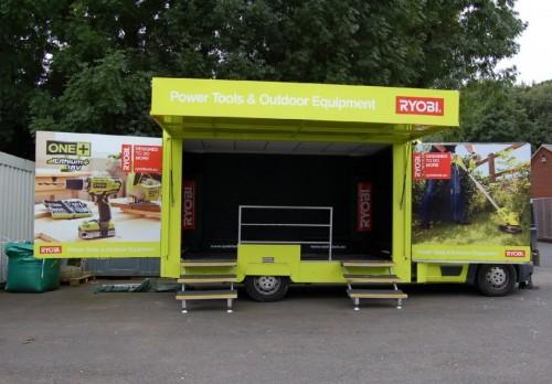 3,500 Kgs Mobile Exhibition Vehicle - LHD (SP7217)