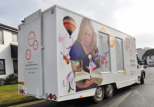 5,000 Kgs Mobile Library