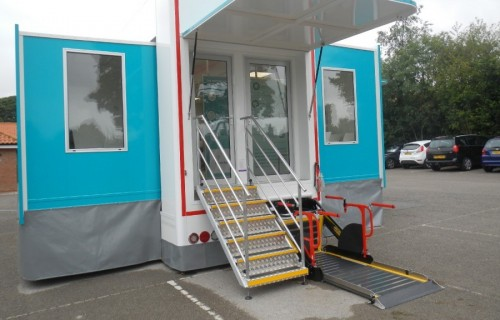 Mobile Chemotherapy Unit Hits the Headlines