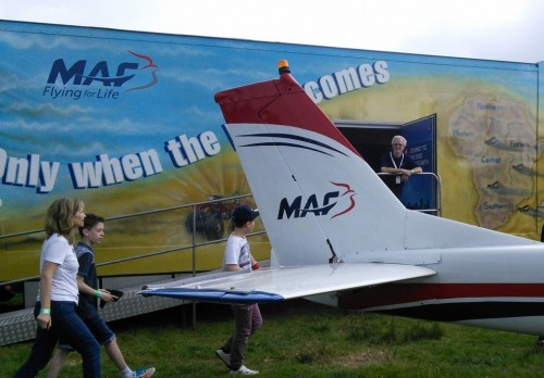 13m Artic Display/ Training Trailer (MAF)