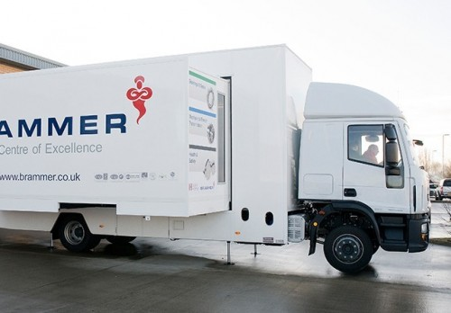 14,000 Kgs Double podded motorised exhibition vehicle
