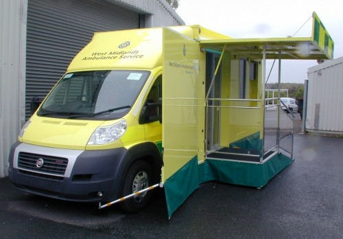 3,500 Kgs Mobile Clinic/ Information Vehicle