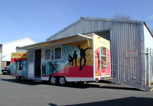 5,000 Kgs Mobile Youth Vehicle/ Clinic