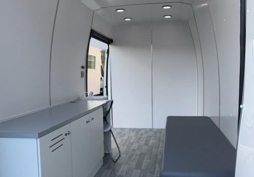 3,500 Kgs Mobile Clinic