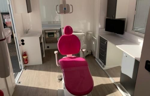 Award winning Orthodontic Mobile Unit